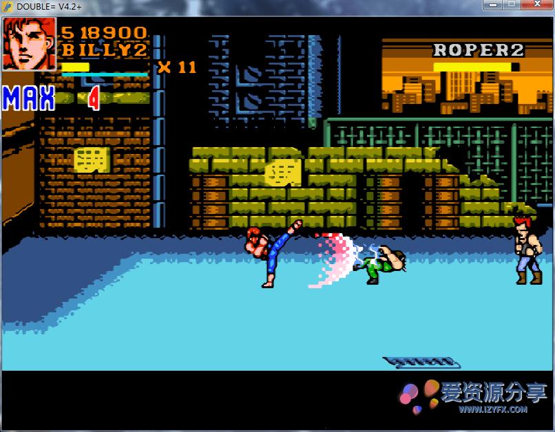 【PC】双截龙狙击风暴最终完整版 童年回忆双截龙+魂斗罗合体游戏-爱资源分享