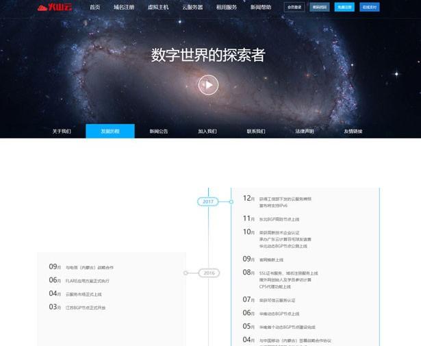 最新修复创梦虚拟主机管理仿鸟云IDC模板网站系统源码 带主控模板+鸟云模板-爱资源分享