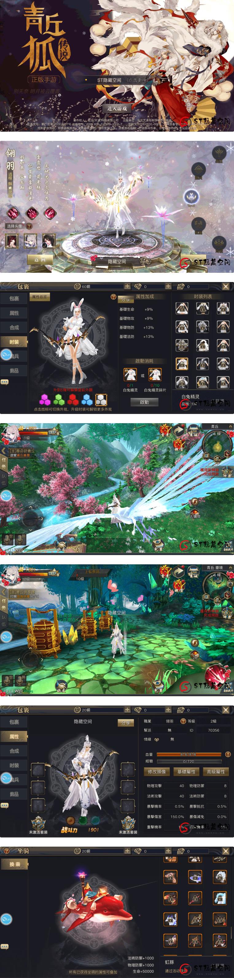 官方最新版青丘狐私服游戏源码 带双端APP+视频搭建教程-爱资源分享