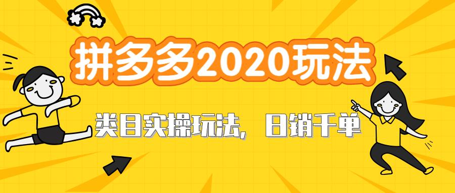 拼多多2020最新类目实操玩法视频教程6.6G 玩转直通车轻松操作到日销千单爆款-爱资源分享