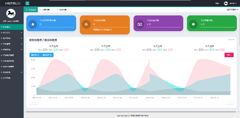原生开发同福客栈电商淘宝任务平台系统源码-爱资源分享