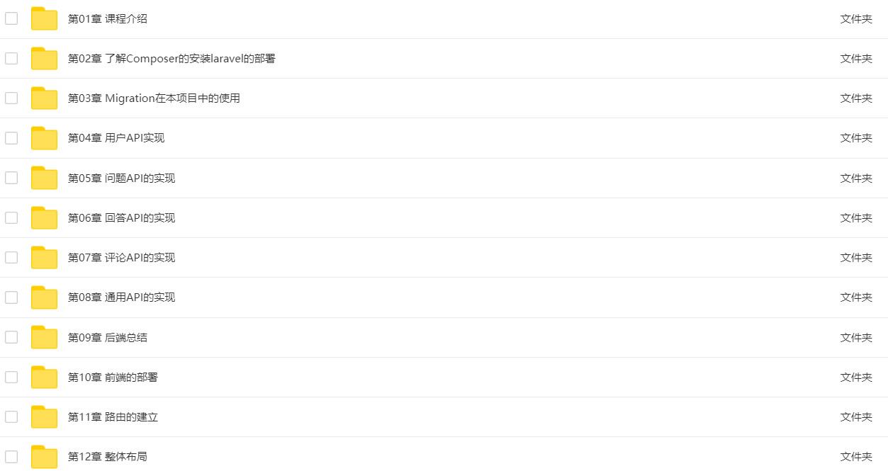双剑合璧Laravel+AngularJS全栈开发知乎课程-爱资源分享