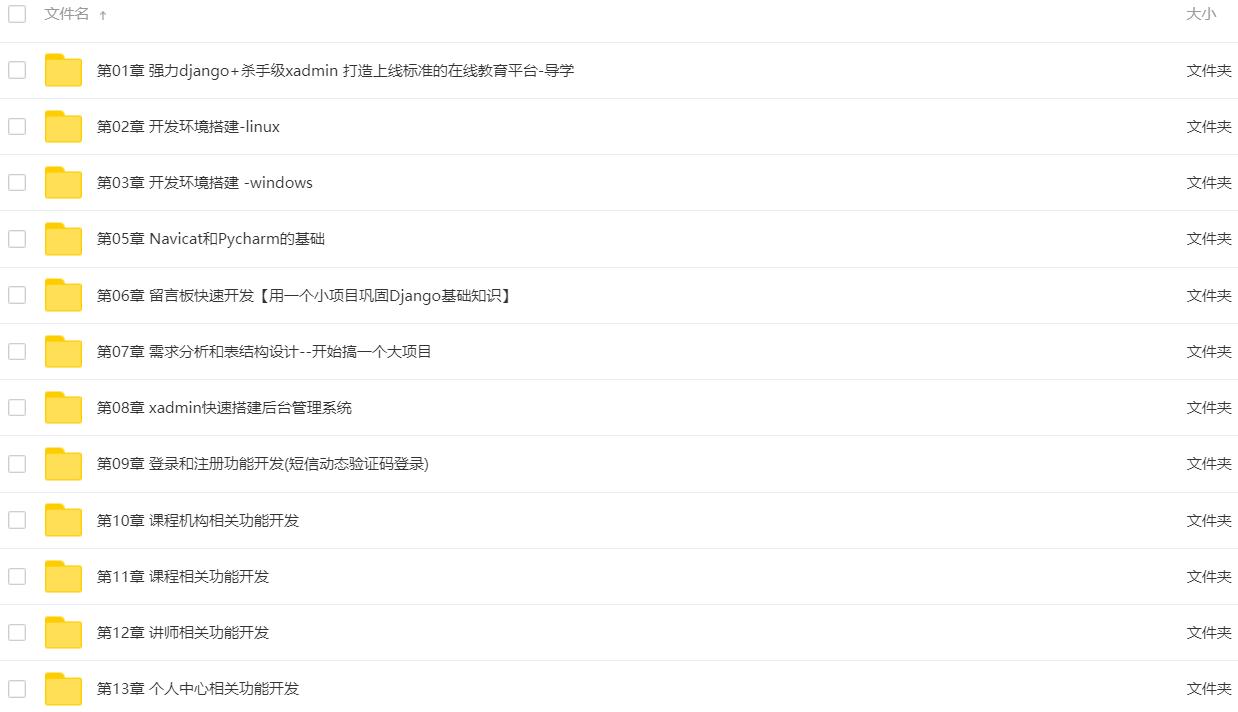 强力Django2.2+杀手级xadmin开发在线教育网站系列课程-爱资源分享