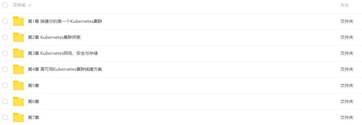 高可用集群搭建配置运维与应用系列课程 Kubernetes实战-爱资源分享